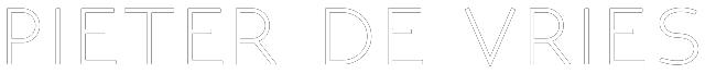 Pieterdevries.com Logo