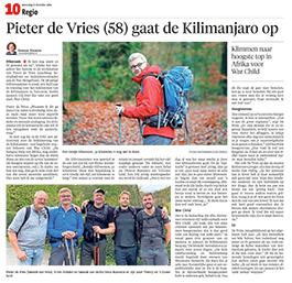Gooi en Eemlander Pieter de Vries