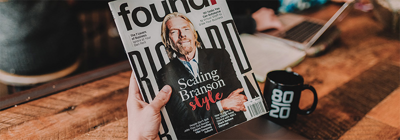 Richard Branson - talent